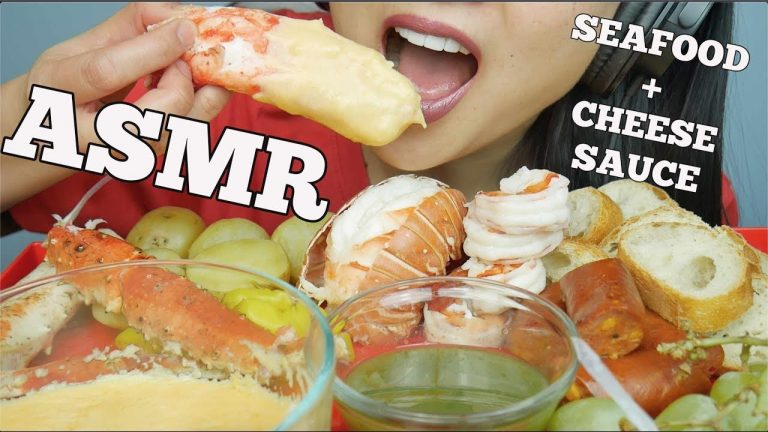 Asmr Seafood Cheese Fondue King Crab Lobster Prawns Sausage Eating Sounds Sas Asmr Asmrhd Everyone has a different asmr triggers. asmrhd