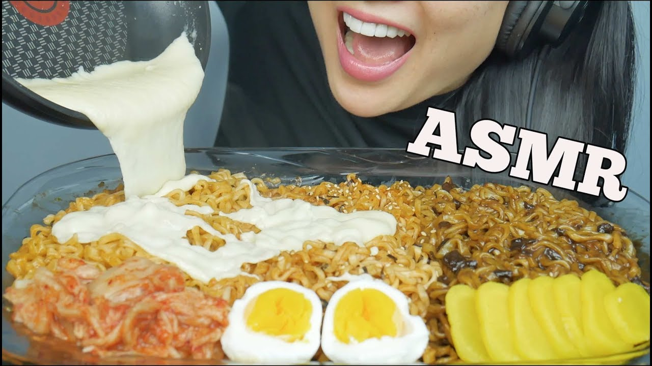 Asmr Cheesy Noodle Feast Spicy Fire Carnonara Jjajangmyeon Eating Sounds No Talking Sas Asmr Asmrhd Her birthday, what she did before fame, her family life, fun trivia facts with more than 2.2 billion total video views, sas became a youtube phenomenon specializing in eating. asmrhd
