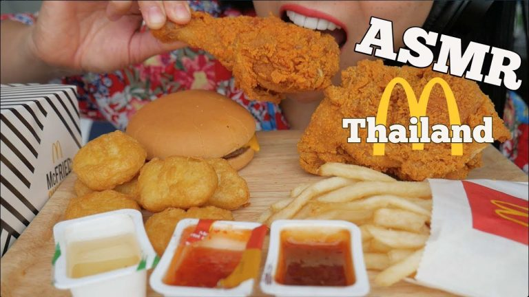 Asmr Mcdonalds Thailand Spicy Fried Chicken Chicken Nuggets Eating Sounds No Talking Sas Asmr Asmrhd Asmr eating chicken biryani chicken curry raita chicken leg piece. asmr mcdonalds thailand spicy fried