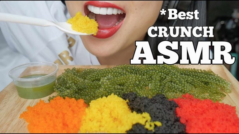 Asmr Best Crunchy Eating Sounds Tobiko Eggs Seagrapes No Talking Sas Asmr Asmrhd With more than 1.7 billion total video views, sas became a. asmr best crunchy eating sounds
