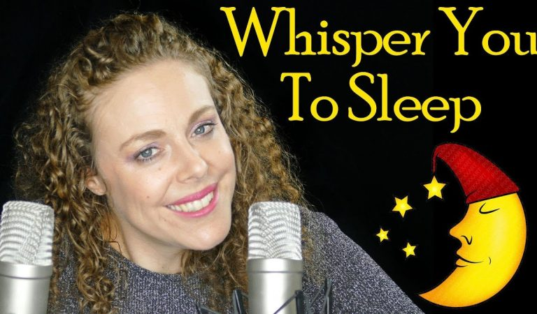 Let Me Whisper You To Sleep – ASMR Ear to Ear Relaxation