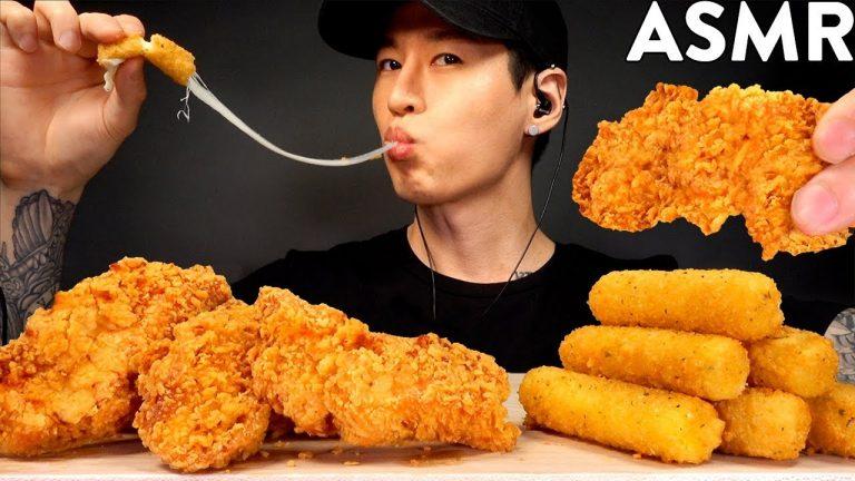 Asmr eating