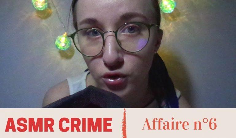 ASMR FR CRIME 💤 Affaire n°6 : Les disparus de Boutiers
