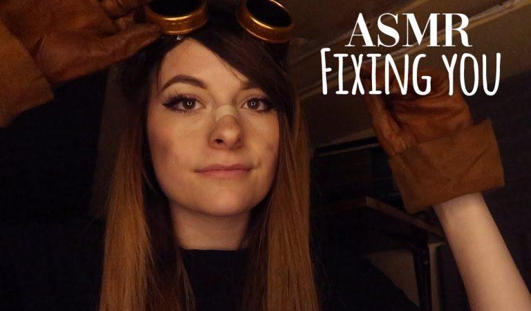ASMR FRANCAIS ⚪️ RP FIXING YOU 🛠️ un robot retrouvé !