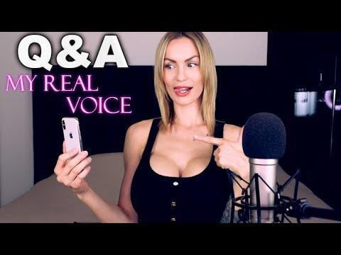ASMR Amy My real Voice – Soft spoken Q&A