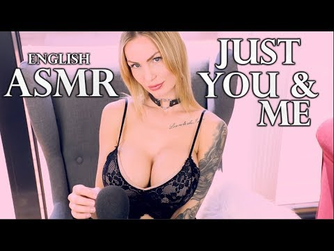 ASMR Just You & me   sensitive Mic Brushing and Breathing   calm Whispering english