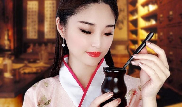 [ASMR] Chinese Herbal Shop ~ Crafting Medicines