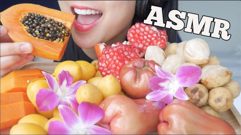 Sas Asmr Fruit / Check out this biography to know her birthday, family life, achievements and.