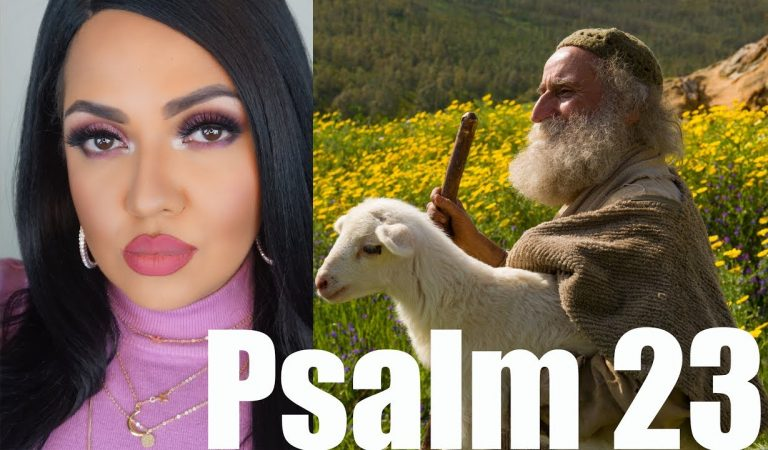 ASMR Guided Meditation for Sleep PSALM 23 #ChristianASMR