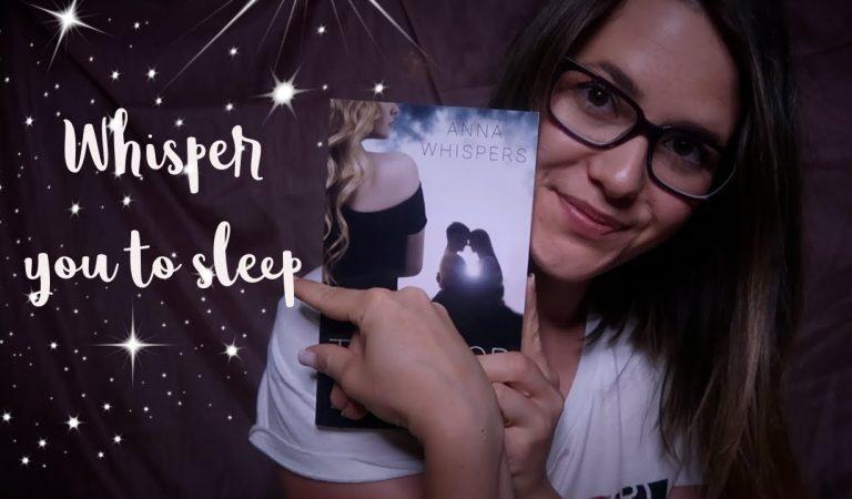 ASMR Ich flüstere dich in den Schlaf 😴 Soft Reading   Asmr deutsch/german