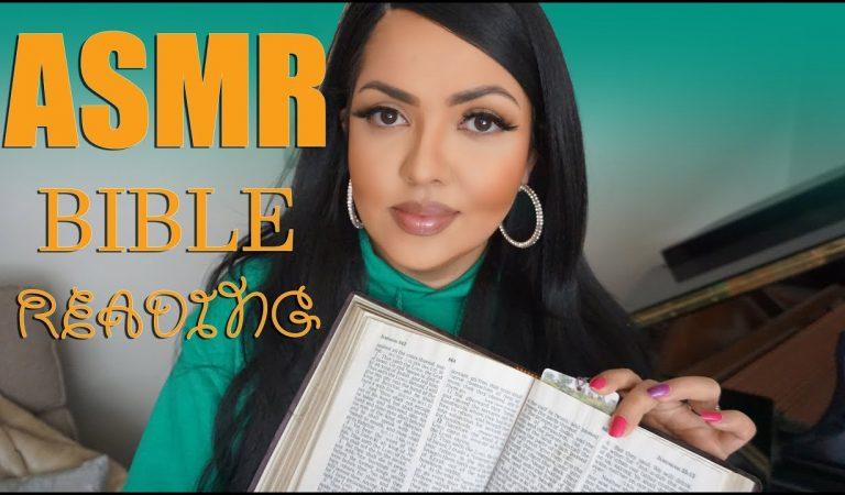 ASMR Whispered Bible Reading Psalms and Layered Rain Sounds
