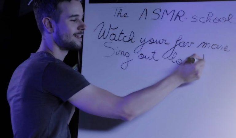 Le PROF en mode ASMR