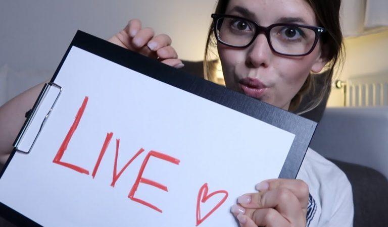 ASMR LIVE ♡ Lass uns gemeinsam Einschlafen #latenightstream
