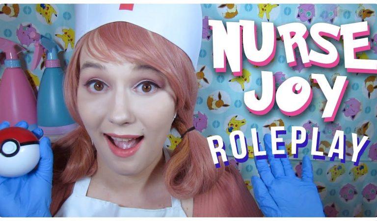 ASMR   Nurse Joy Patches You Up! (You're Pikachu!)