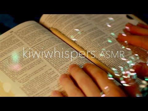 Sleepy ASMR Bible Whisper Reading | Romans 10-16