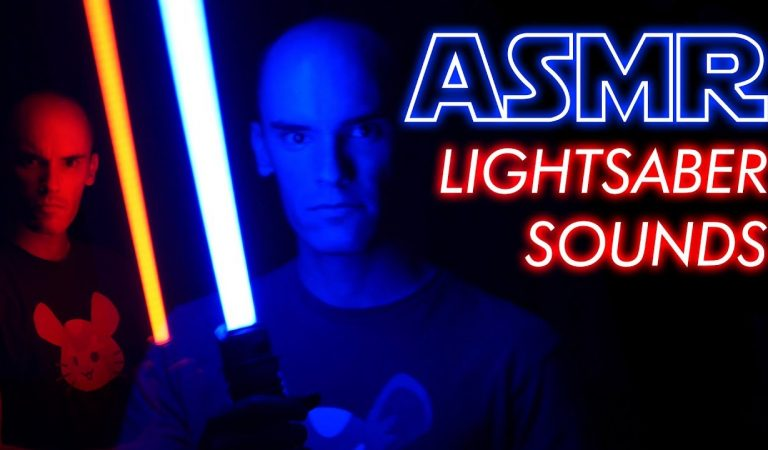 [ASMR] Binaural Lightsaber Sounds (No Talking)