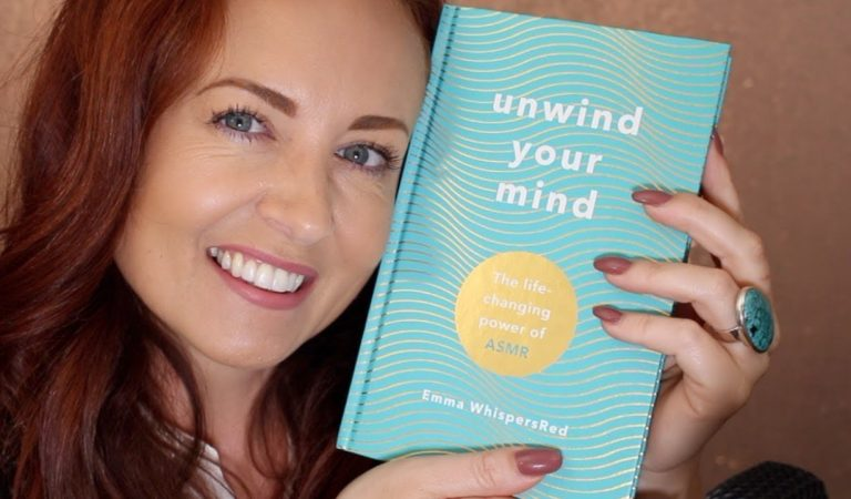 I Wrote an ASMR Book 💜 Tapping, rambling, soft speaking & whispering
