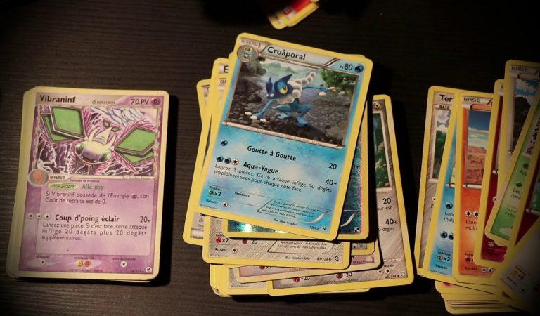 ASMR je découvre et trie mes cartes Pokemon de vide grenier