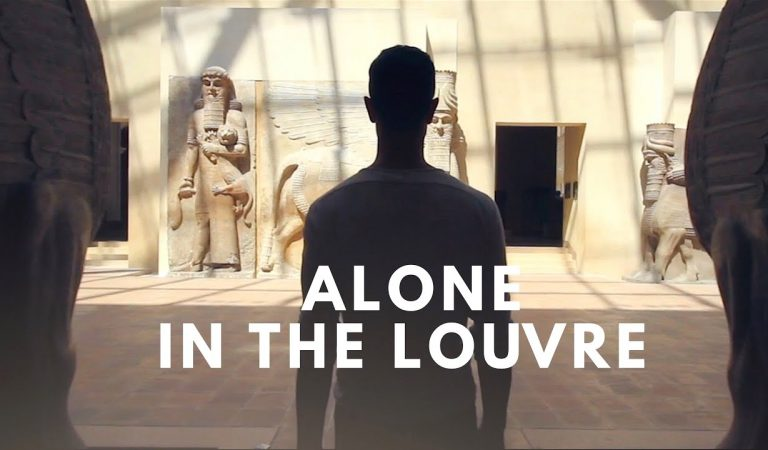 ASMR   ALONE in the LOUVRE (feat. WhispersRed ASMR)