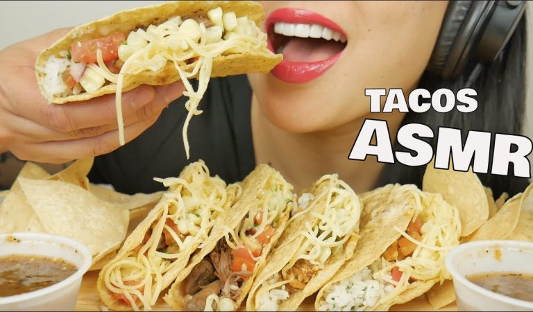 ASMR TACOS (CRUNCHY EATING SOUNDS) NO TALKING | SAS-ASMR