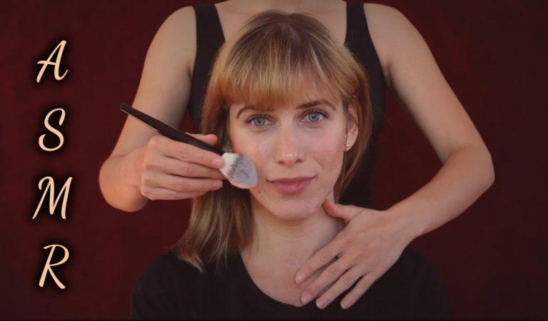 Extrem Sanftes ASMR Face- und Hairbrushing mit Darya (Zuschauerin)   Geflüstert (Deutsch/ German)