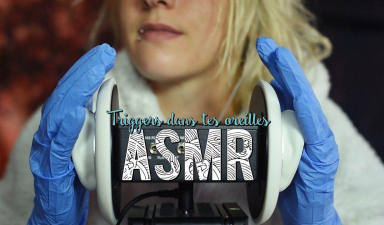 ASMR Français  ~ Triggers dans tes oreilles