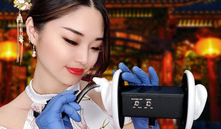 [ASMR] Chinese Herbal Ear Cleaning and Massage