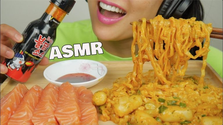 Sas Asmr Noodles And Rice Cakes / Listening to whisper voice and eating sounds are some examples that trigger asmr.