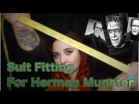 Suit Fitting For Herman Munster 🔩⚡Soft Spoken (RP)