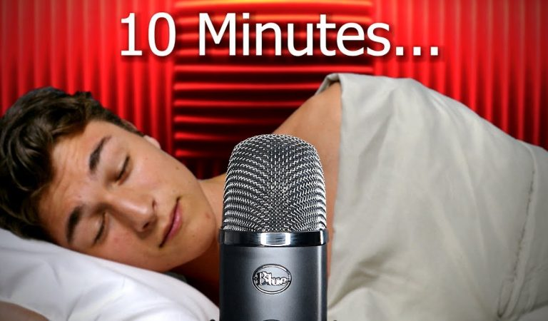 ASMR 10 minutes and YOU will be asleep…[Yeti X]