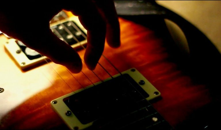 ASMR Whisper | Gentle Guitar String Sounds
