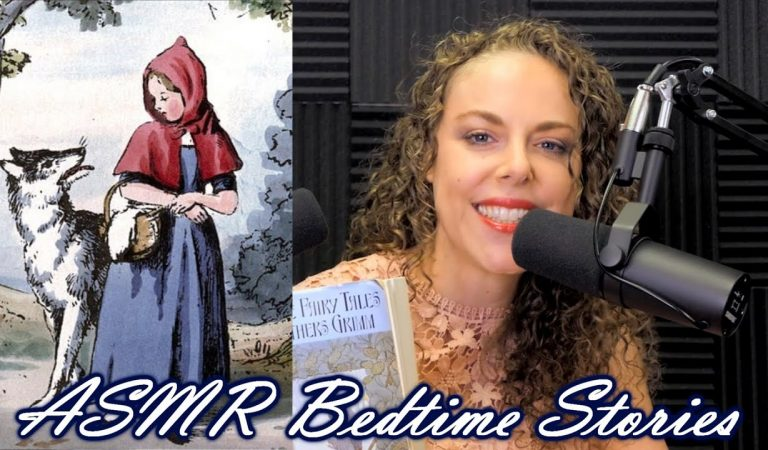 ASMR Bedtime Stories ♥ Reading « Little Red Cap » to Help You Sleep, Ear to Ear Soft Spoken, Corrina