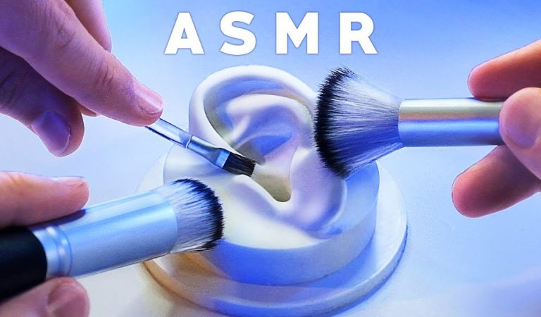 ASMR XXL Brushing & Brushes ONLY Compilation [NO TALKING] Tingle. Study. Sleep. Relax.