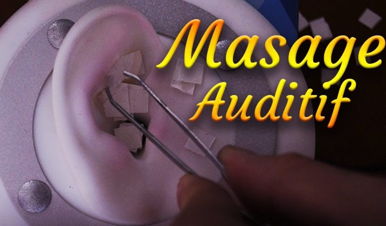 👂 ASMR Massage Auditif prés de l'oreille 👂