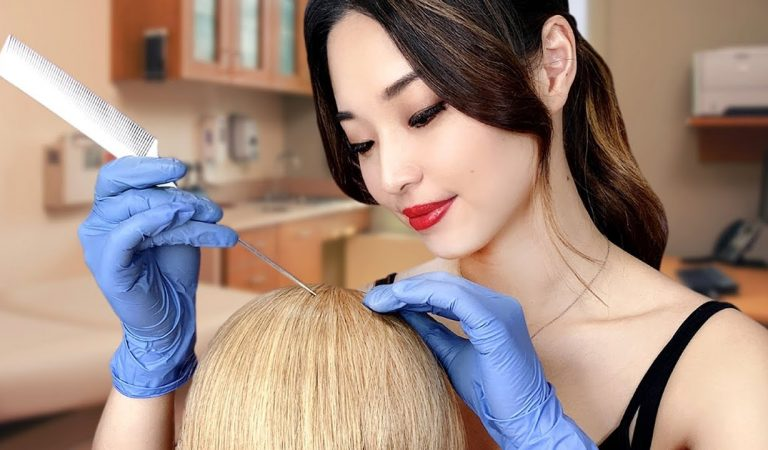 [ASMR] Doctor Yearly Scalp Check