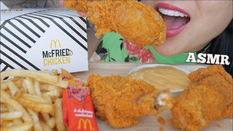 Asmr Mcdonalds Fried Chicken Cheese Sauce Satisfying Crunchy Eating Sounds No Talking Sas Asmr Asmrhd Asmr cheeseburger, crunchy fried chicken, waffle fries, corn dog & cheese 먹방 eating sounds. asmrhd