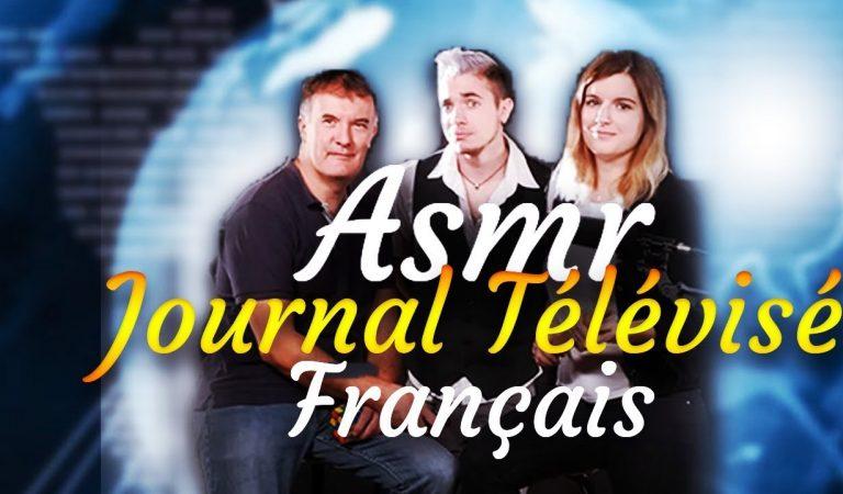 💖 ASMR : Journal TV ( Jeux de rôle ) avec Asmr et Chuchotement et Alinéa Asmr  💖