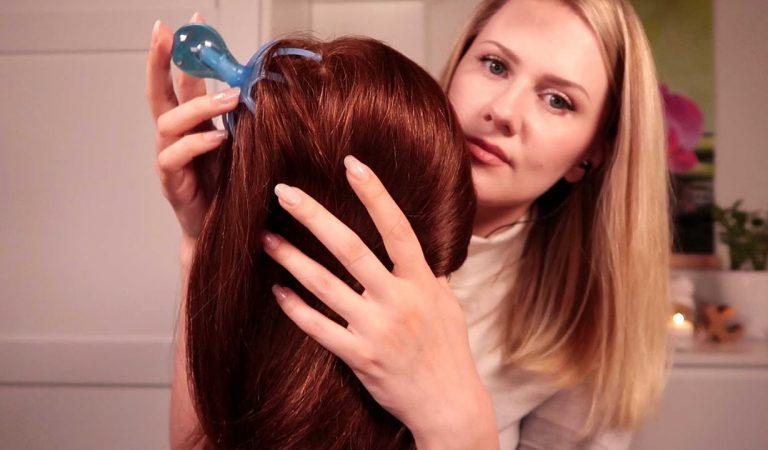 АСМР • Массаж и Расчесывание Волос • Шепот
