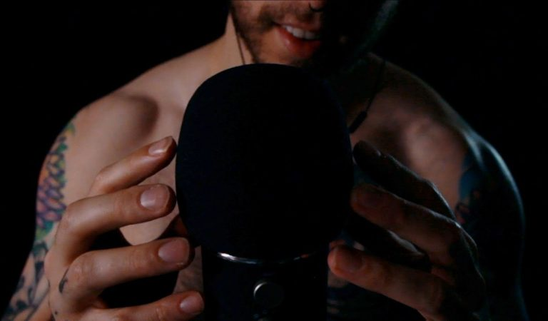 ASMR Head Scratching and Soft Whispering