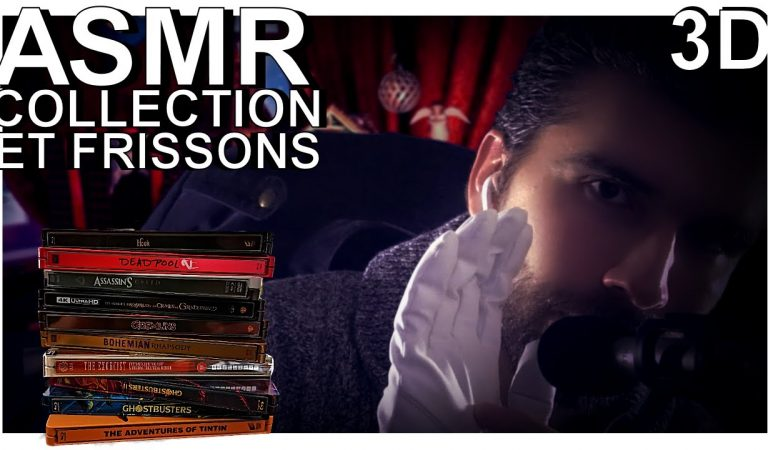 ASMR français – Collection et frissons garantis ( Tapping, tapotement, french whisper, chuchotement