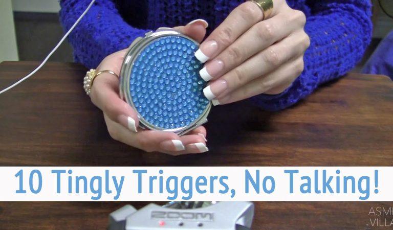 ASMR * 10 Tingly Triggers * Tapping & Scratching * Fast Tapping * No Talking * ASMRVilla