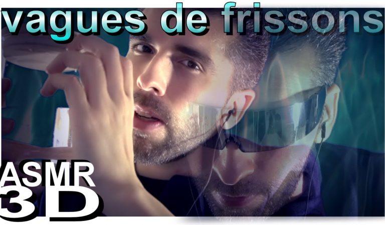 ASMR français 🌊 VAGUES DE FRISSONS ⛲( voix douce, chuchotement, whisper, soft spoken, eau )