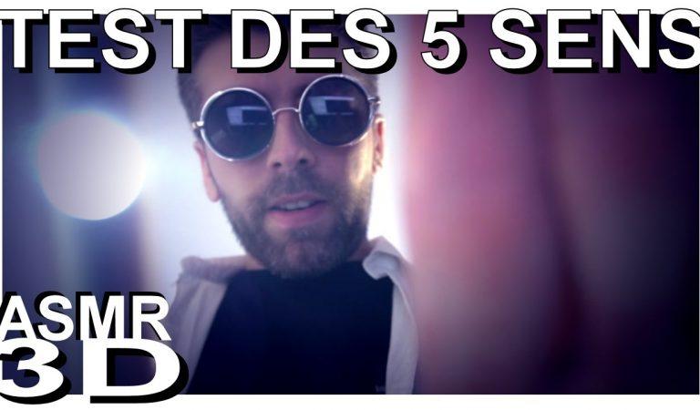 ASMR français 💊 Docteur Sethy: TEST DES 5 SENS 💉(roleplay, voix douce, soft spoken)