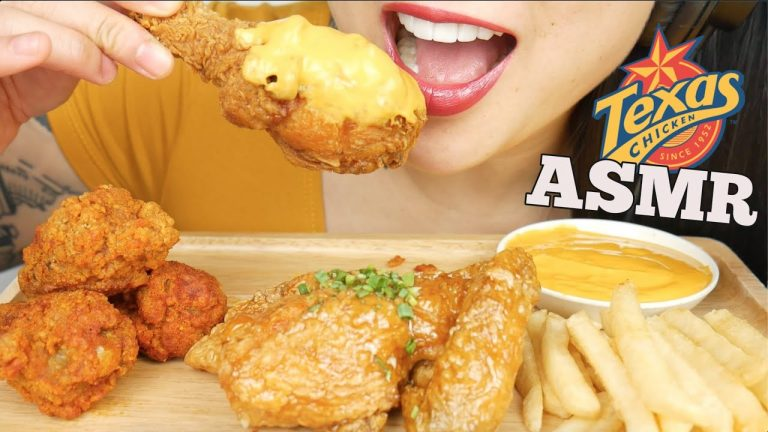 Asmr Texas Fried Chicken Extreme Spicy Cheese Sauce Eating Sounds No Talking Sas Asmr Asmrhd It's the perfect sports watching or football snack! asmrhd