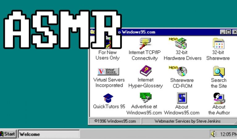 [ASMR] Relaxing Internet History – Browsing the Web of the 90's
