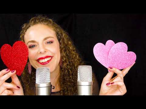 I  ♥ You ASMR! Personal Attention, Face Brushing, Singing, & Whispers