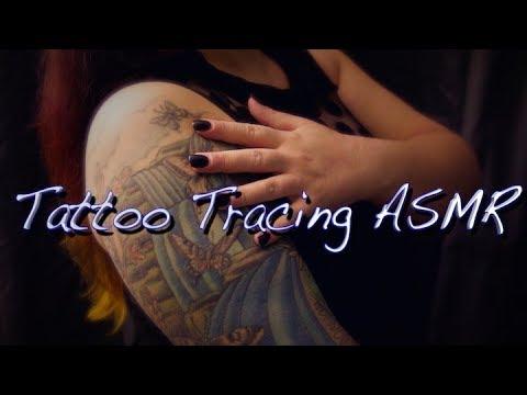 Tattoo Tracing ASMR 💗 🎬 🌊🌲 🌟 Whispered