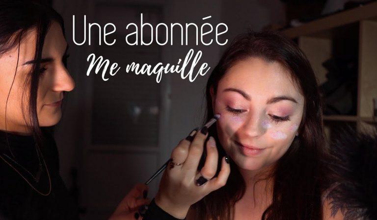 ♡ ASMR – UNE ABONNÉE ME MAQUILLE ♡