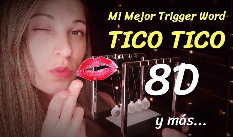 ¡8D ASMR ! TICO TICO Mi Mejor Trigger Word | ASMR para dormir Si o Si  | SusurrosdelSurr  | Español