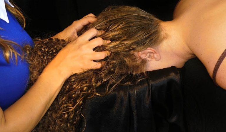 Try Not To Fall Asleep – Deep Relaxation Head & Scalp Massage w/ Intense Hair Sounds